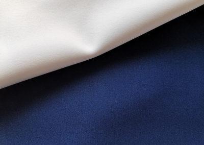 Neoprene Bianco - Blu